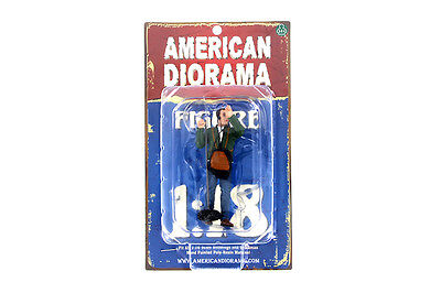 "CAMERA CREW FIGURE III w BOOM AMERICAN DIORAMA 1:18 Scale MALE MAN 4"" Figure"