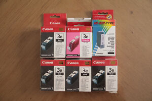 BCI-3e ink cartridges for Canon Printer/Cartouches d'encre Canon