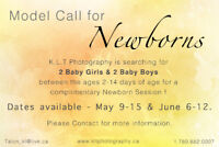 Model Call - Newborn - Complimentary Session