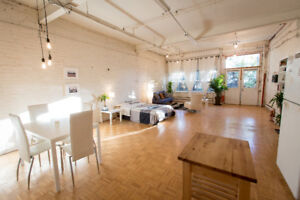 Sublet - Beautiful Loft in the Lower Plateau (Weekly or Monthly)