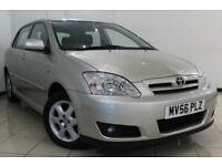 2006 56 TOYOTA COROLLA 1.6 T3 COLOUR COLLECTION VVT-I 5DR AUTOMATIC 109 BHP
