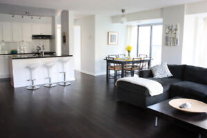 HUGE 2 bed 2 bath Condo on Queen West!