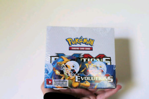 Pokemon card game unopened booster box!