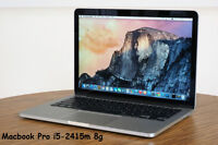 "Macbook Pro 13"" like new i5-2415m, 8g memory"