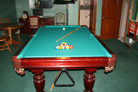 Pool Table...Dufferin 4x8 Reduced Price