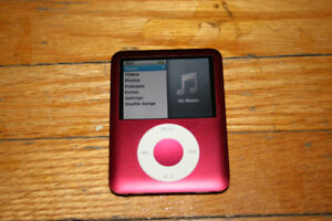 3rd gen special edition red iPod nano 8gb