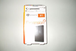 Seagate  Portable Drive  2 TB...Brand new...  Never used Cambridge Kitchener Area image 2
