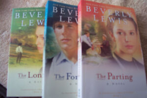 3 books from Beverly Lewis, The courtship of Nellie Fisher,