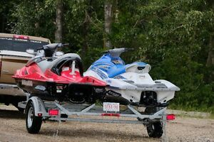 Wave Runner SeaDoo Wake Combo with Trailer