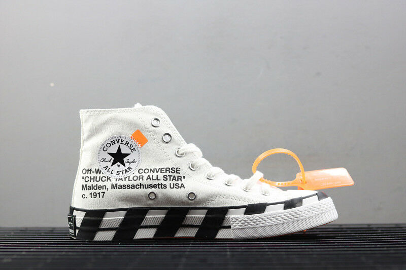 Off White - Converse Chuck Taylor All Star 70 Hi size 10  dd7bb7bbe