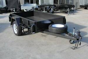 7x4 Box Trailer - Slide Under Ramps - New Sunraysia Style Wheels Thomastown Whittlesea Area Preview