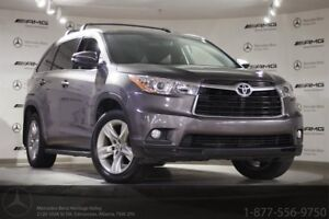 2016 Toyota Highlander Limited AWD 7 Passenger NAVI & Leather