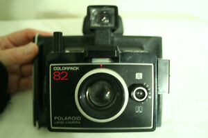 Polaroid Land Camera Colorpack 82 (Case, Manual, Flash-bulbs)