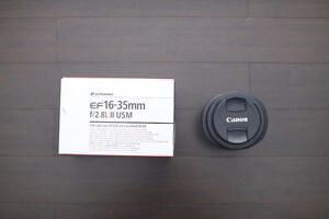 Canon EF16-35 F2.8L II for sale