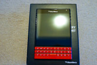 "Unlocked Blackberry ('Exclusive'  Red/Black) - ""Like New"""