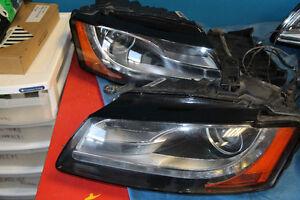 Audi A5 S5 B8 Xenon headlights OEM 2008 2009 2010 2011 2012