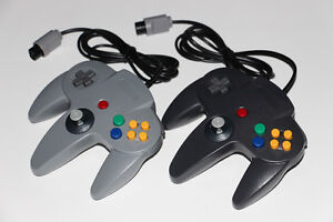 2X NINTENDO 64 N64-MANETTES/CONTROLLERS (NEUF/NEW) [VOIR/SEE DESCRIPTION] (C003)