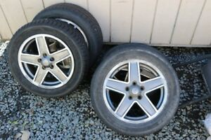 Used Authentic 17 inch Jeep Wheels - 5 lug