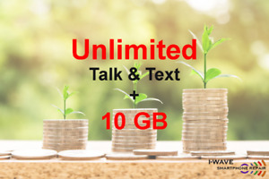 5GB + Bonus 5GB + Talk and Text for only $70 / month NO CONTRACT