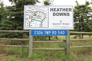 RURAL LAC ST. ANNE LAND FOR SALE - HEATHER DOWNS