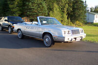 Chrysler LeBaron Mark Cross edition