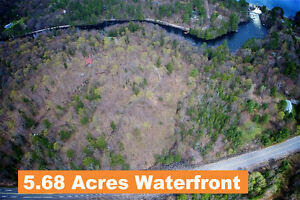 bracebridge - 380 Ft. Waterfront, 5.68 Acres.