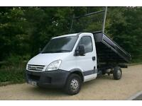 IVECO 35S12 MWB done 88857 miles with a NEW TIPPER BODY and NEW MOT