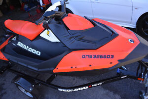 2016 sea doo spark 3-up IBR and VTS