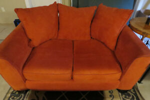 Nice Modern Red Sofa/Couch for Sale-$275 OBO