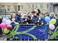 Event Cheer Point Volunteer at the Cardiff Half Marathon