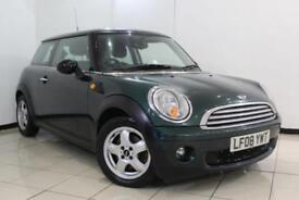 2008 08 MINI HATCH COOPER 1.6 COOPER 3DR 118 BHP