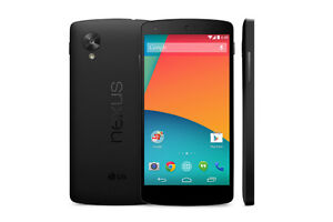 LG NEXUS 5 factory unlocked 16gb black with charger $199