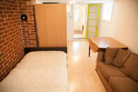 New Furnished Studio Apartment for Rent – available Sept 1st or