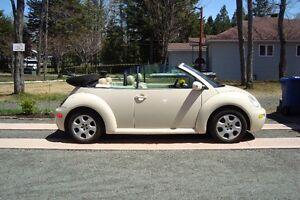 2003 Volkswagen Beetle convertible Cabriolet