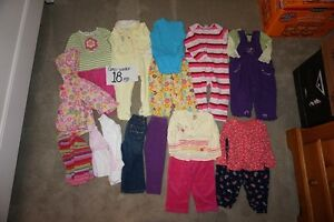 Girls winter clearout 18 mo.+ 24 mo.  45 items for $50