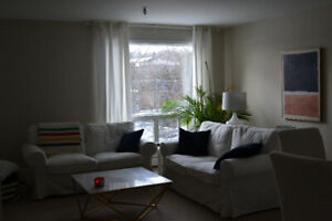 2BRM $ 1025 includes heat and parking secure building