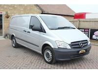 2014 MERCEDES VITO 113 CDI BLUEEFFICIENCY LWB LOW ROOF VAN LWB DIESEL
