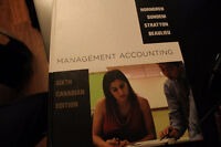 Management Accouting Sixth Edition