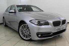2013 63 BMW 5 SERIES 3.0 530D LUXURY 4DR AUTOMATIC 255 BHP DIESEL