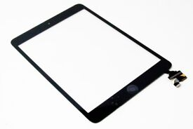Ipad Mini 2 touch screen digitizer glass with free fitting at no extra cost while you wait