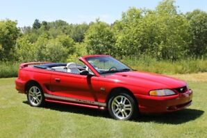 1994 Mustang GT Convertible - 30th Anniversary  - 118K kms