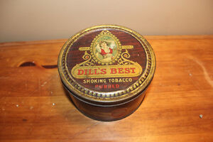Vintage Dill's Best Tobacco Tin London Ontario image 1