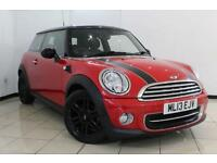 2013 13 MINI HATCH COOPER 1.6 COOPER 3D 122 BHP