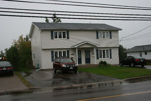 Large 3 Bedroom Duplex for Rent in Dieppe