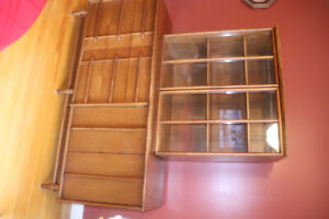Dining room suite - Buffet, table with 6 original chairs