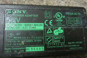 sony power supply model pega ac10