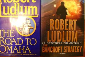 FIVE HARDCOVER BOOKS BY ROBERT LUDLUM Windsor Region Ontario image 2