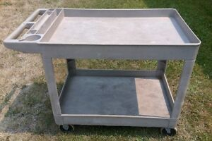 Rubbermaid Very Handy and Sturdy Wheeled Cart