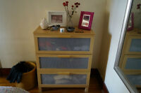 3 Dressers/chests of drawers/commodes