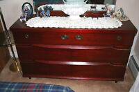 7 drawer dresser with mirror and 4 Drawer High Dresser. OBO